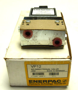 New In Box Enerpac Vp12 4 3 Directional Valve 5000 Psi 350 Bar 110vac