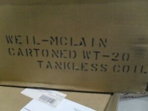 Weil mclain 590921610 Wt 20 Wtg0 7 9 Tankless Heater Coil