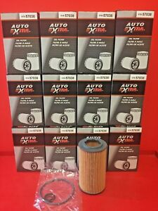 Case Of 12 Auto Extra 57038 Engine Oil Filter For Dodge Freightliner Mercedes
