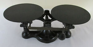 Vintage Detecto Balance Scale Cast Iron Jacobs Bros No 2 New York In Black