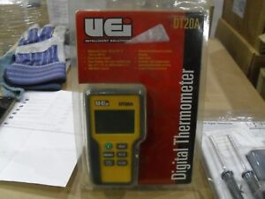 Uei Test Instruments Dt20a Dual Input Digital Thermometer Tool