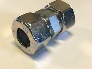 Gates emb 25mm Equal Straight Hydraulic Compression Coupling Union heavy
