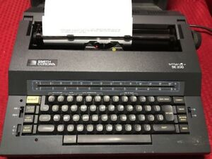 Smith Corona Se 200 Spell Right I Electric Typewriter Carry Case