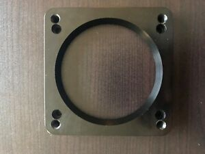 5 0 Coyote Electronic To Mechanical Black Billet Throttle Body Adapter Plate