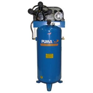 New Puma Single Stage Belt Drive Air Compressor 60 Gallon 5 Hp Vertical
