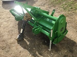 Ere 660 60 Pto 3 Point Hitch Tractor Rear Tiller