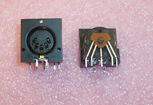Qty 100 57pc5f Switchcraft R a 5 Pin Din Audio video Connector