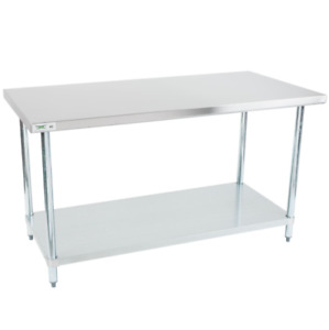 Commercial Kitchen table Restaurant stainless steel equipment Food Prep 30x60