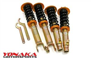 Yonaka Honda Accord 2008 2012 Spec 2 Coilovers 28 Way Adjustable Dampening Cp2