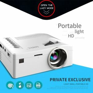 Unic Uc18 Hd 1080p Home Theater Av In sd usb vga hdm Wifi Lcd Led Projector Ep