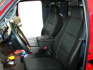 Ford Ranger 2006 2009 Black S leather Custom Made Fit Front Seat Console Cover