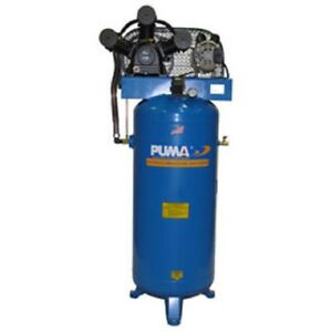 New Single Stage Belt Drive Air Compressor 60 Gallon 6 5 Hp Vertical