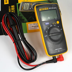 New Fluke 101 Handheld Digital Multimeter F101 Small Pocket Mini 600v Catiii
