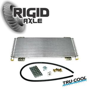Tru Cool Max 40 000 40k Gvw Transmission Fluid Oil Cooler Heavy Duty And Towing