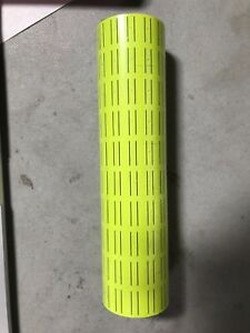 30 Rolls 15000 Tags Yellow Labels For Motex Mx 5500 L5500 Mx989 Price Gun