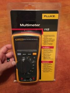 Brand New Fluke 115 Compact True Rms Digital Multimeter Sealed