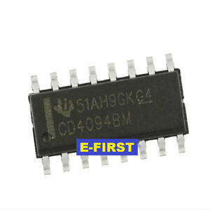 500pcs Cd4094bm Sop 16 Output Latch And 3 state Control Smd