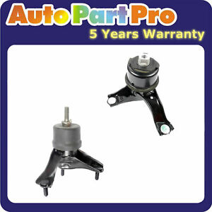 For 2011 2013 Toyota Sienna Le 2 7l Awd Engine Motor Trans Mount 4295 4288 Set