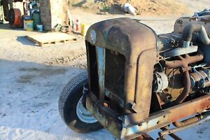 Antique Ford Tractor Fordson Major Diesel Parting Out Grill Farmerjohnsparts