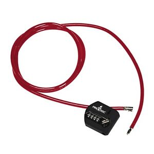Firedisc 6 Ft Disc Security Multi loop Tie down Cable Lock