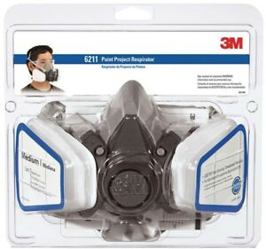 Paint Project Respirator Dust Mask Safety Protective Gear 3m Medium case Of 4
