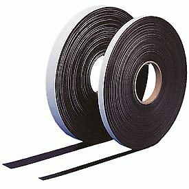 100 Ft X 1 h Self Adhesive Magnetic Strip 1 Roll Lot Of 1