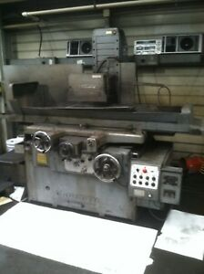 Okamoto Psg 84 16 x 32 3 axis Automatic Surface Grinder 5hp 3ph W magnet Chuck