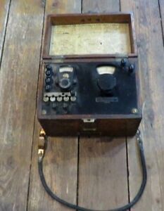 Vintage Leeds Northrup No 4282 Ohmmeter Made In Usa