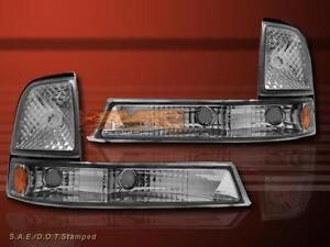 1998 2000 Ford Ranger Euro Clear Park Corner Signal Lights Lamps Pair Set 1999