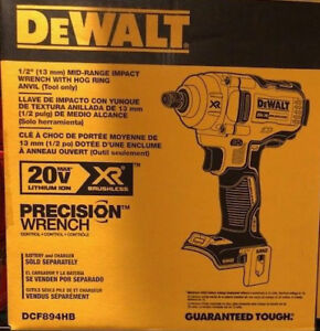 Dewalt Dcf894hb 20v Max Xr 1 2 In Mid range Cordless Impact Wrench New