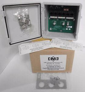 Cmc Industrial Electronics Mtb006 6 ek2 Field Wiring Interconnect Enclosure Kit