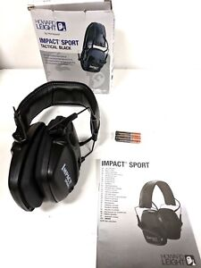 Howard Leight 1030942 Impact Sport Sound Earmuff Black Free Shipping