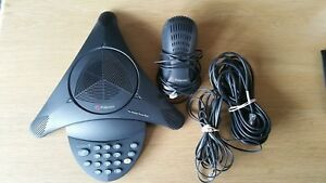 Polycom Soundstation2 Analog Conference Phone 2201 15100 601 Non expandable