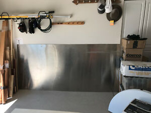 Stainless Steel Sheet Brushed Plate 48 x 100 18 Gauge 046