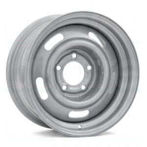 15x7 Vision 55 Rally 5x120 65 Et6 Silver Rims Set Of 4