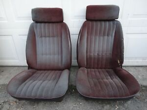 83 88 Chevy Monte Carlo Ss Factory Front Bucket Seats