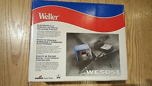 Weller Wesd51 Digital Soldering Station New