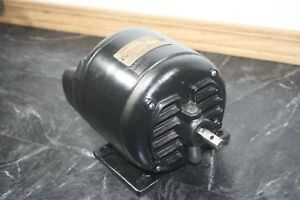 Vintage Robbins Myers 1 4hp Electric Motor Refurbished Antique Cast Iron Works
