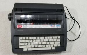 Brother Ax 325 Correctronic Electronic typewriter With Ink Ribbon