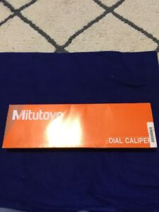 Mitutoyo 12 Dial Calipers 505 746 New
