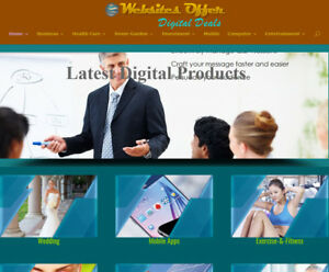 Ready Website Amazon Google Adsense Clickbank Affiliate Max Profit Site