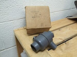 Ford Flathead Nos Dole Heater Thermostat Control Valve 1930s 1940s New In Box