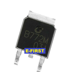 500pcs Sot 252 2sb772 B772m B772 Audio Amplifier Switch Smd