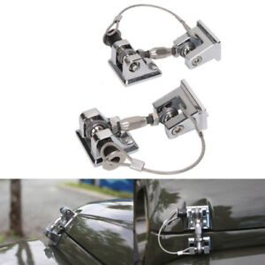 Hood Catch Lock Bracket Latch Buckle Holder For 07 17 Jeep Wrangler Jk Unlimited