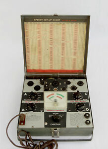 Sencore Mighty Might Ii Tc114 Tube Tester Good Working Cond 30 Day Warranty
