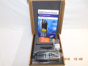 Bk Bendix King Kng p150s Vhf P25 Digital Portable Radio Wildland Fire Ems Police