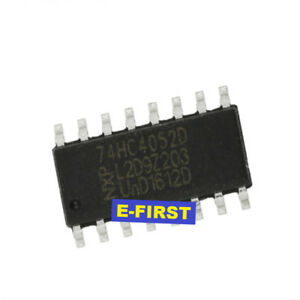 500pcs 74hc4052d Smd Sop 16 Dual 4 Selection 1 Analog Switch