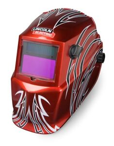 Lincoln Electric Introduces The New Viking Auto darkening Welding Helmet