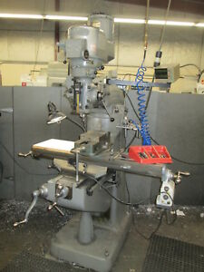 Bridgeport Series 1 2hp 42 table Variable Speed Mill W mitutoyo Dro