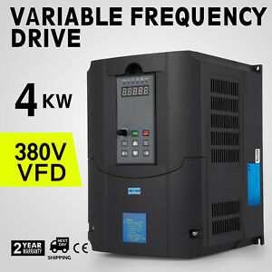 Updated 4kw Variable Frequency Drive Inverter Vfd 380v 5hp 7a High Quality